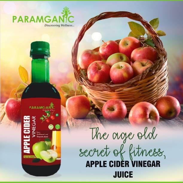 paramganic Natrual Apple Cider Vinegar -Raw,Unfiltered and Unpasteurized-Weight Management Formulation Vinegar