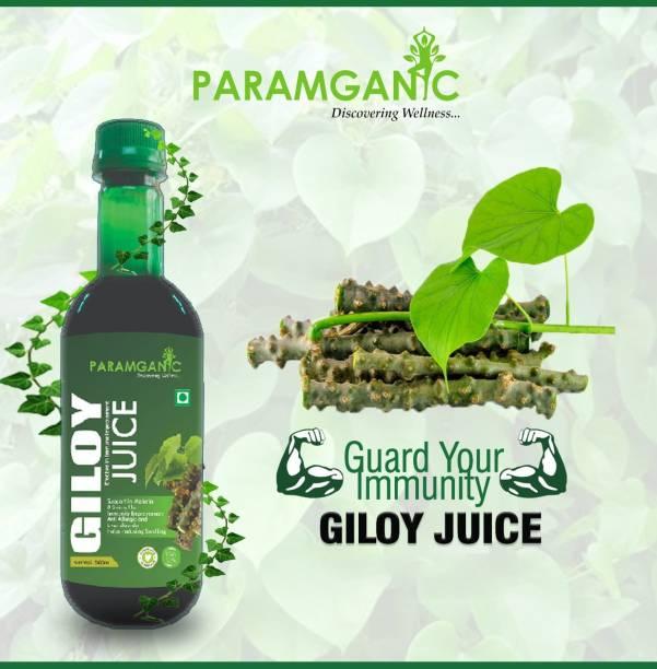 paramganic Natural Giloy Juice -Immunity Booster