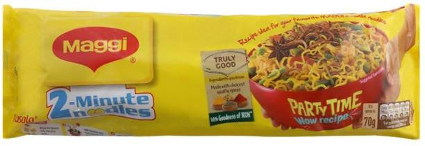 Maggi 2-Minute Masala Instant Noodles 560 G Pack of 4 (4 X 560G) Instant Noodles Vegetarian
