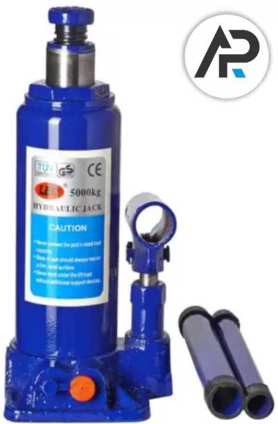 Casper 5 Ton Car Hydraulic Bottle Jack For All Cars And SUVs (Blue) Vehicle Jack Stand
