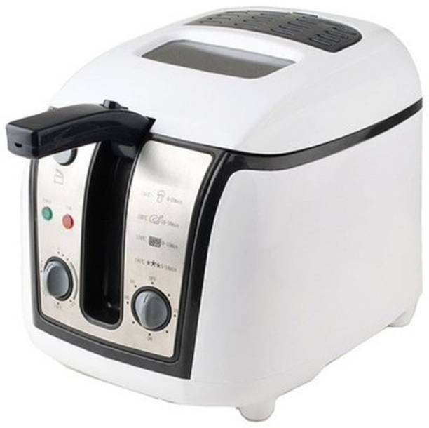 PEZODF 18A Electric Stainless Steel Deep Fryer 2.5 Liter With Temperature Control System 2.5 L Electric Deep Fryer