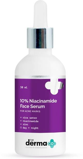 The Derma Co 10% Niacinamide Serum with Cica Water & Zinc for Acne Marks