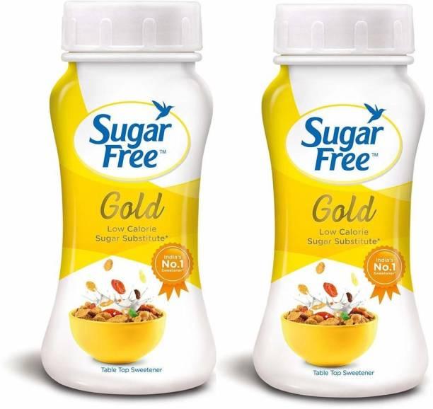 Sugar free S F Gold 200 Gram Pack of 2 Sweetener