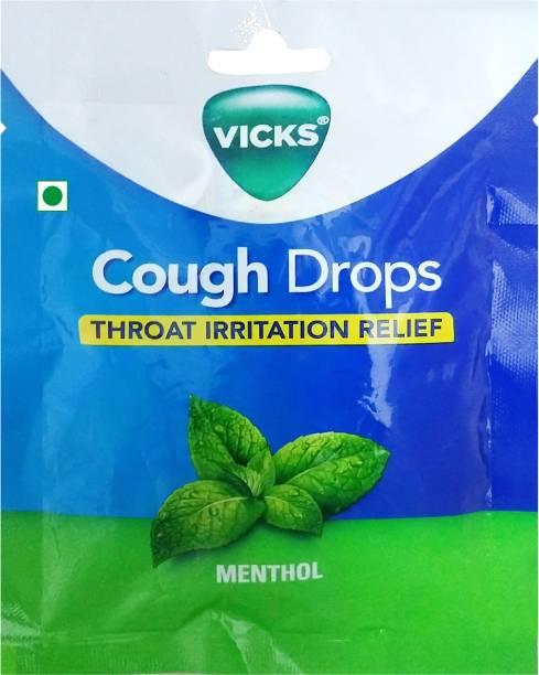 Vicks Cough Drops Menthol Toffee