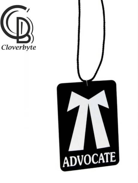 CLOVERBYTE Advocate Car hanging Black Base Car Hanging Ornament