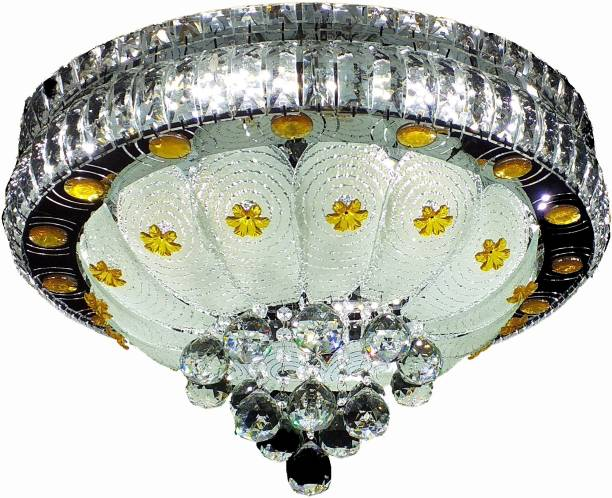 FREDI GROUP color changing with music system,central part moving by remote Flush Mount Ceiling Lamp