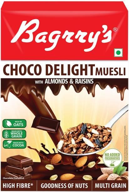 Bagrry's Choco Delight Muesli, 500Gm