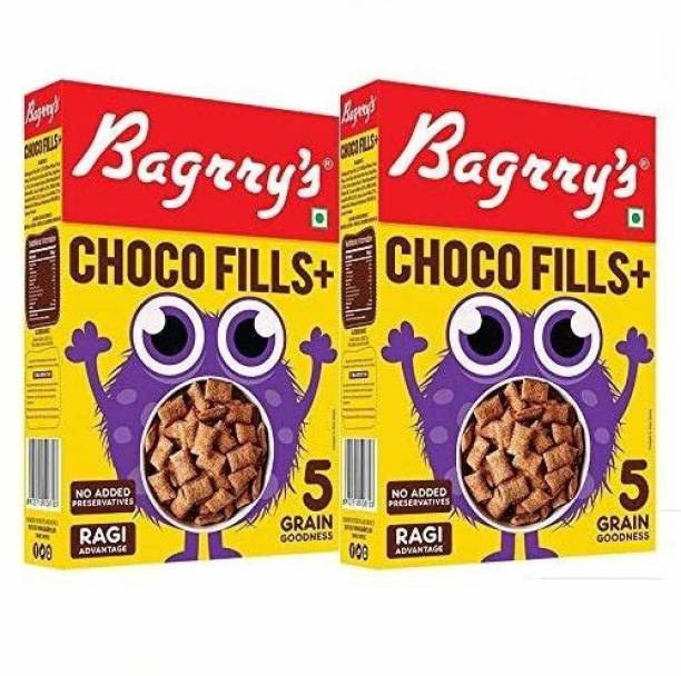 Bagrry's Choco Fills Plus 250 GM Box Pack of 2