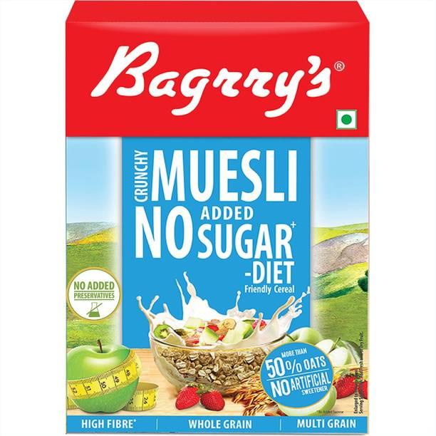 Bagrry's No Added Sugar Crunchy Muesli