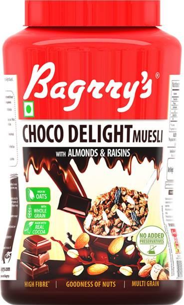 Bagrry's Choco Delight Muesli With Almonds & Raisins 1000g