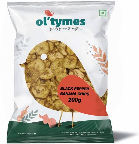 Ol'tymes Black Pepper Banana Flavour Chips