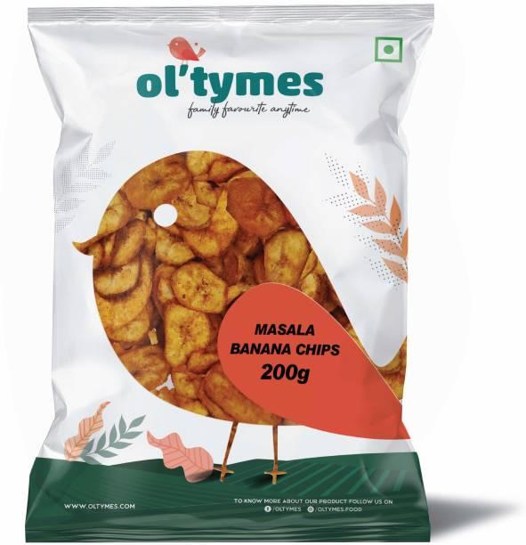 Ol'tymes Masala Banana Flavour Chips