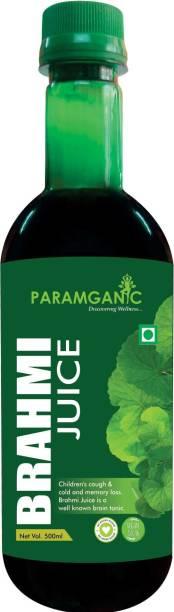 paramganic Natural Brahmi Juice
