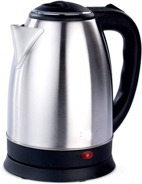 Ortan Longlife (R) 1.8 L Stainless Steel Quick Heating Tea - Water Boiler Heater Pot Electric Kettle