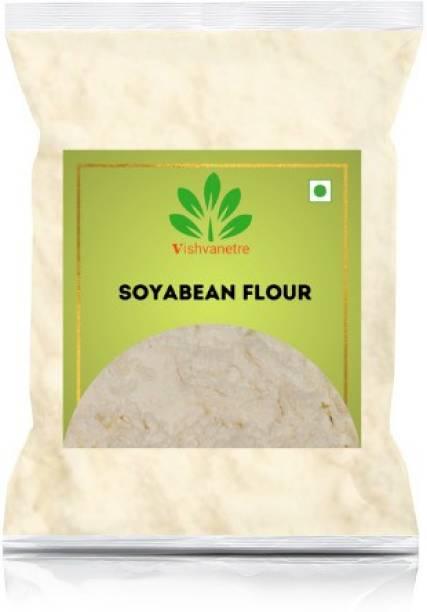 Vishvanetre Premium Quality Soyabean flour|500g
