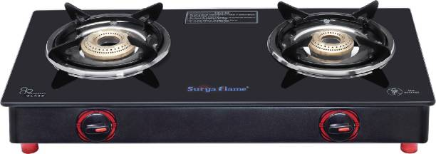 Suryaflame 2B Smart MS NA (ISI MARKED CE MARKED) Steel Manual Gas Stove