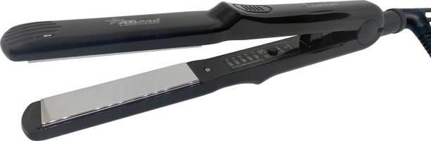 Abs Pro ST Professional Titanium Neo Tress Temperature Control Professional Titanium Plate Hair Straightener Hair Straightening machine (Black) Hair Straightener