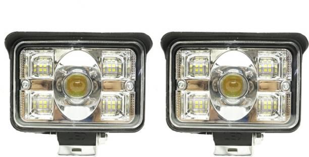 AutoPowerz LED Fog Light for Universal For Bike, Universal For Car Universal For Car