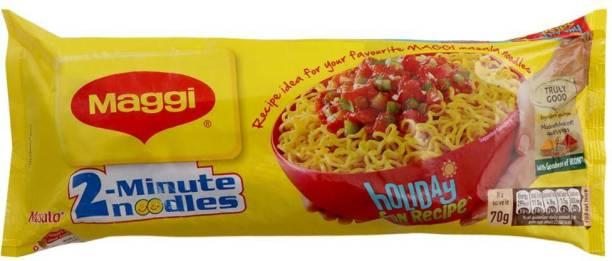 Maggi 2-Minute Masala Instant Noodles 420 g Pack of 4 (4 X 420G) Instant Noodles Vegetarian