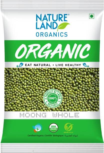 Natureland Organics Moong Dal (Whole)