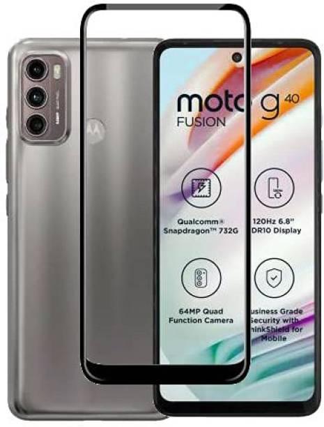 Lilliput Tempered Glass Guard for Motorola Moto G40 Fusion