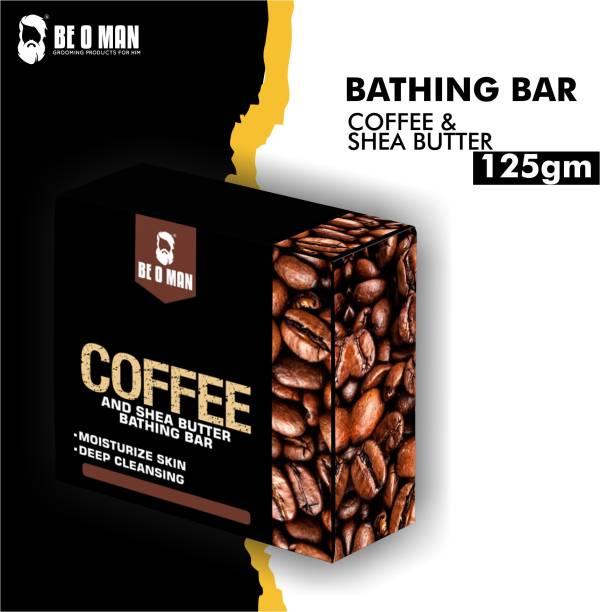 Be O Man Bathing Bar – Coffee & Shea Butter