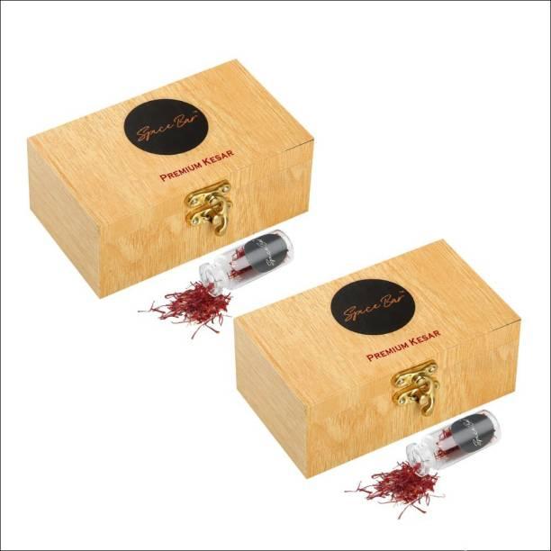 Spice Bar Certified Natural Premium Saffron / Kesar- A++ Grade