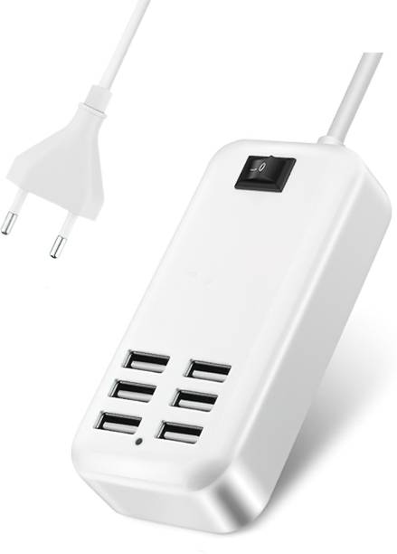 iTeerth 20W USB Power Adapter Fast Charging Hub 6PORT/1.5M LINE USB Hub (White) 20W USB Power Adapter Fast Charging Hub 6PORT/1.5M LINE USB Hub (White) USB Charger (White) Multiport Mobile Charger with Detachable Cable