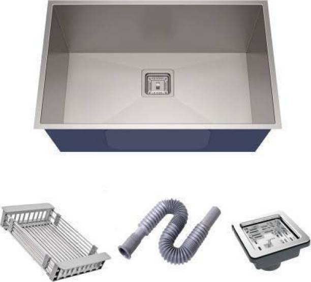 "KAWL Hand Made Wash Basins K_24"" X 18"" X 10"" HANDMADE 304 GRADE SINK 304 Grade Stainless Vessel Sink Vessel Sink"
