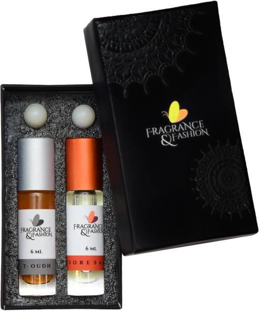 Fragrance & Fashion Woody Combo Herbal Attar