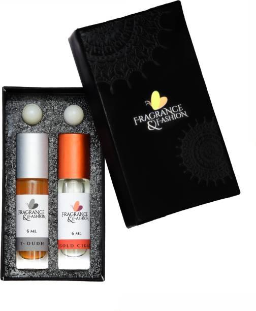 Fragrance & Fashion Smoky combo Herbal Attar