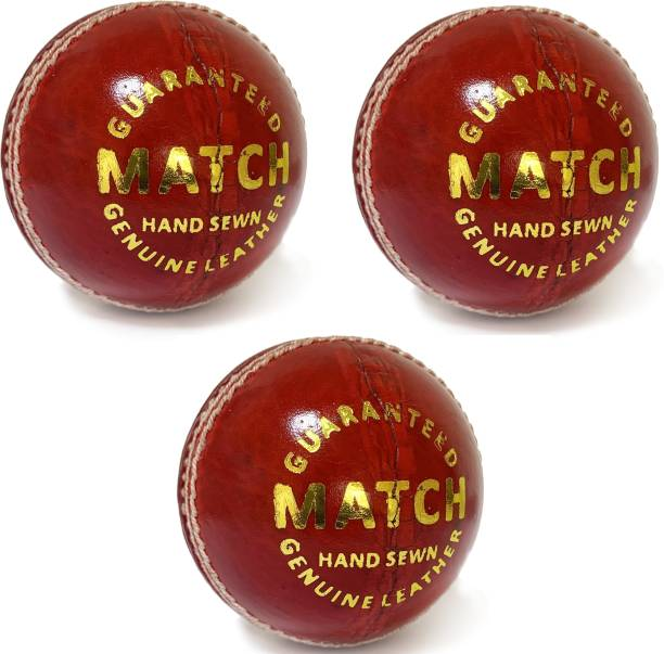 AGGIENext Cricket Ball 3 Cricket Leather Ball
