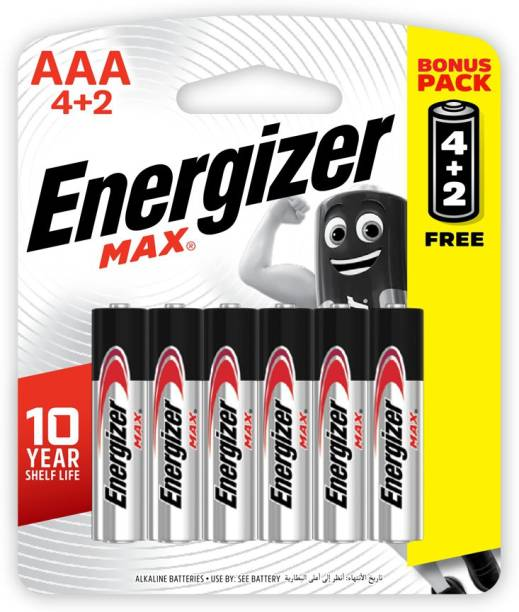 Energizer Primary Alkaline Batteries MAX 3A  Battery