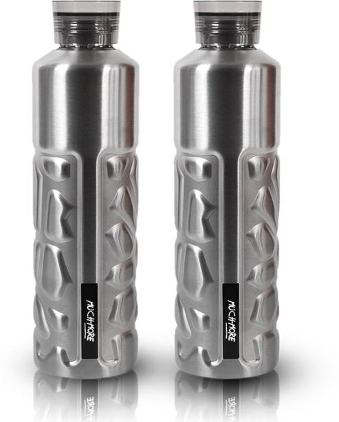 Muchmore Stainless Steel Water Bottle For Home & Kitchen 1000 ml Bottle