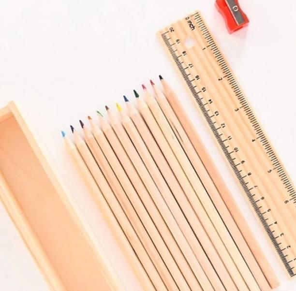 starchier PENCIL COLOUR ROUND Shaped Color Pencils