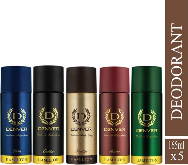 DENVER pride,caliber,prestige,hamilton,honour Deodorant Spray  -  For Men