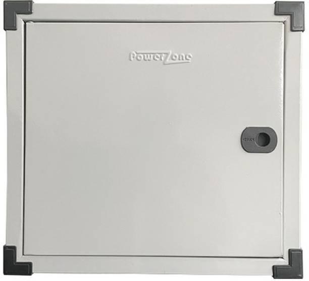 POWERZONE 8 way TPN (Three Phase) Double Door Metal MCB Box - DB Distribution Board