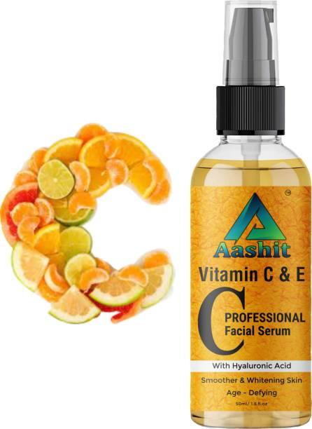 Aashit BEST Skin Brightening And Illuminating Vitamin C Serum For Glowing Skin And Face Serum