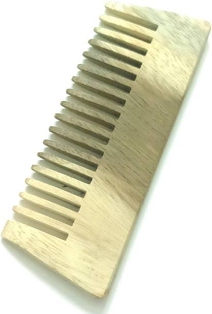 ClueSteps Wooden Hair Comb or Wooden Hair Brush For Men & Women No Handle
