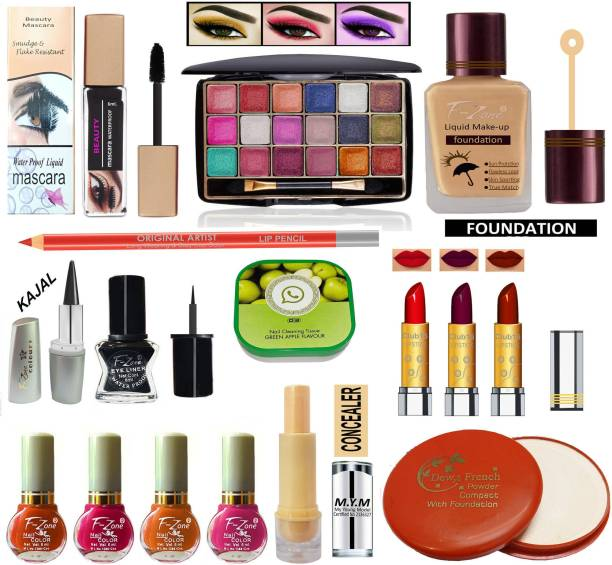 F-Zone Perfect Makeup Kit For Girls & Women CC04
