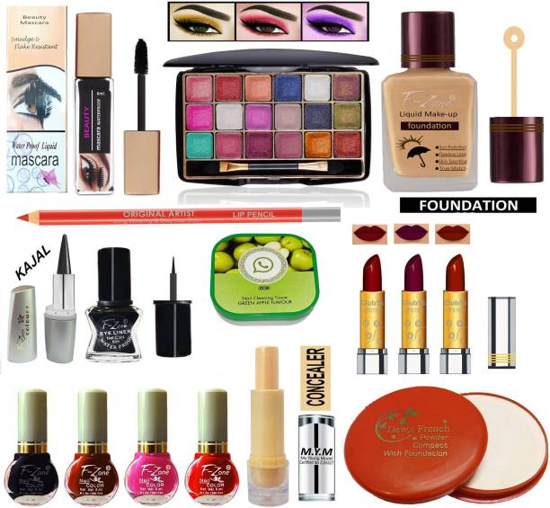 F-Zone Perfect Makeup Kit For Girls & Women CC76