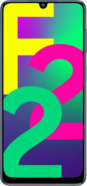 SAMSUNG Galaxy F22 (Denim Blue, 64 GB)