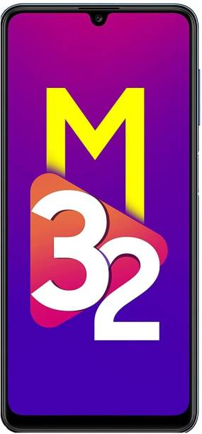 SAMSUNG Galaxy M32 (Light Blue, 128 GB)