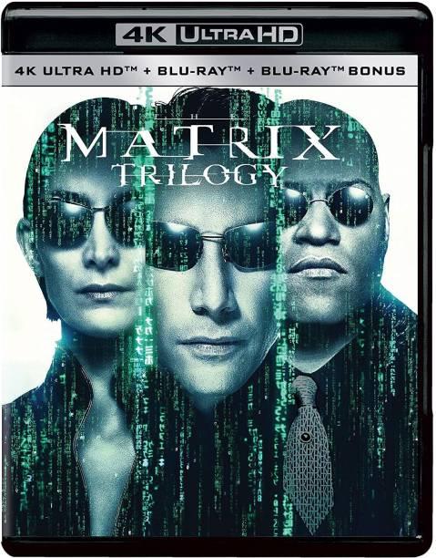 The Matrix Trilogy: The Matrix + The Matrix Reloaded + The Matrix Revolutions (4K UHD + Blu-ray + Blu-ray Bonus Disc) (9-Disc Box Set)
