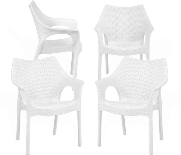 Oaknest Unboxing Furniture Cambridge Chair Plastic Outdoor Chair