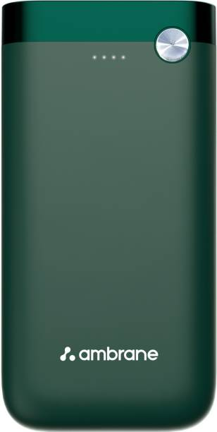 Ambrane 20000 mAh Power Bank (20 W, Quick Charge 3.0, Power Delivery 2.0)