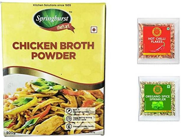 chef's art Chicken Broth Powder 500 gm 500 g