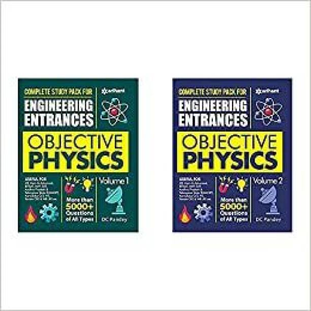 Objective Physics (Vol 1+2) For Engineering Entrances 2022 (Set Of 2 Books)