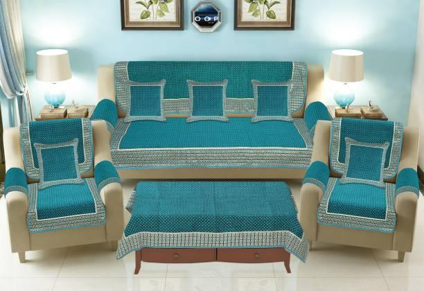 JAYVAAM Velvet Sofa Cover