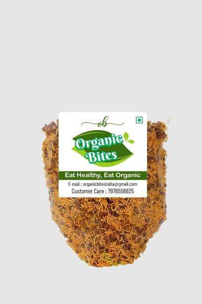 Organic Bites Dal Sev (Dalmoth) Delicious Normal Spicy (Marwari Flavour)